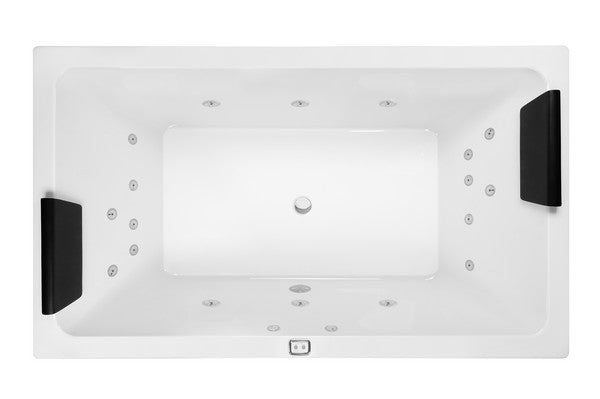 Decina LAGO 1795 SPA - CONTOUR 18 JETS - Idealbathroomcentre