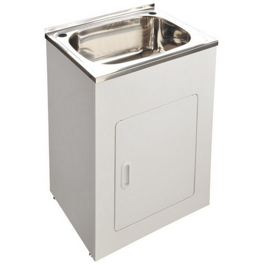 35L Compact Laundry Tub 555*455*870mm - Idealbathroomcentre