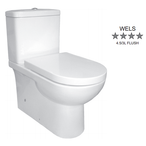 Johnson Suisse  Life Wall Faced Toilet Suite