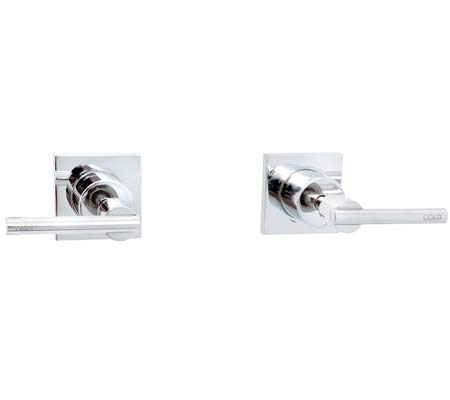 Millennium Caron Lever Wall Top Assemblies Chrome