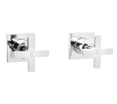 Millennium Caron Wall Top Assemblies Chrome