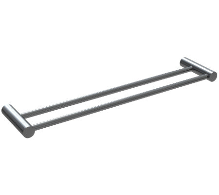 Millennium Finesa Double Towel Rail 600mm