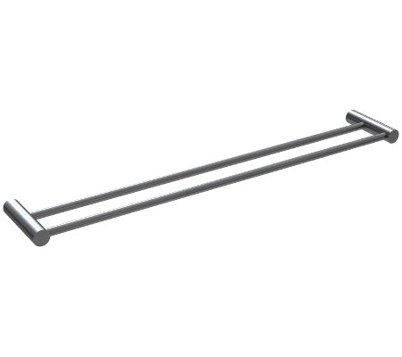 Millennium Finesa Double Towel Rail 800mm
