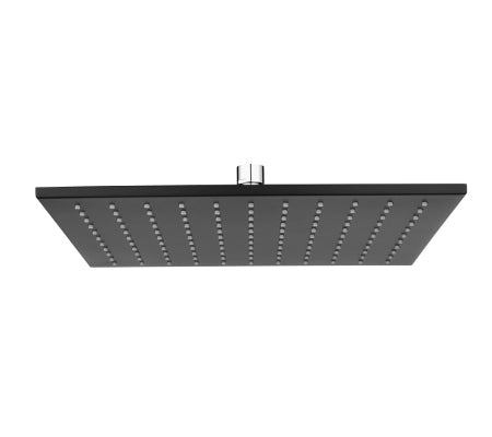 Millennium Kiato Square Overhead Shower Rose 300mm Black