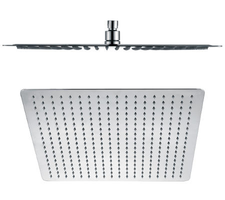 Millennium Kiato Square Overhead Shower Rose Chrome