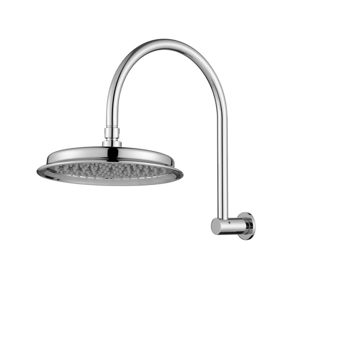 Montpellier Shower Arm and Rose - Idealbathroomcentre