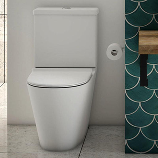 Studio Bagno Manhattan Rimless Back To Wall Toilet Suite