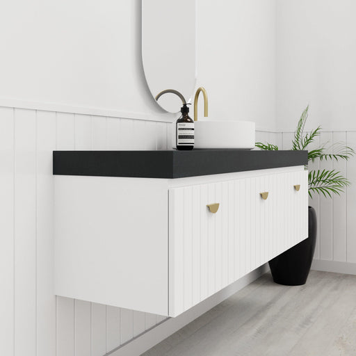 MARQUIS-Marquis Chelsea Wall Hung Vanity - Brand_Marquis, Colour_Gloss White, Colour_Matte Grey, Colour_Matte White, Product Type_ Wall Hung Vanity, Size_1200mm, Size_1500mm, Size_1800mm, Size_600mm, Size_750mm, Size_900mm, Vanity Tops_Stone Tops-Ideal Bathroom Centre