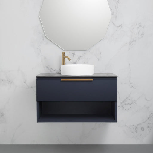 MARQUIS-Marquis Oxford Wall Hung Vanity - Brand_Marquis, Colour_Gloss White, Colour_Matte Grey, Colour_Matte White, Colour_Woodgrain, Product Type_ Wall Hung Vanity, Size_1200mm, Size_1500mm, Size_1800mm, Size_600mm, Size_750mm, Size_900mm, Vanity Tops_Stone Tops-Ideal Bathroom Centre