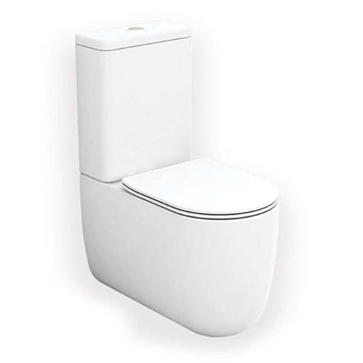 Studio Bagno Milady Rimless Back To Wall Toilet Suite