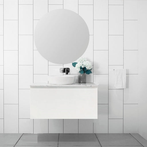 MILANO Slim 900mm Vanity With Stone Top