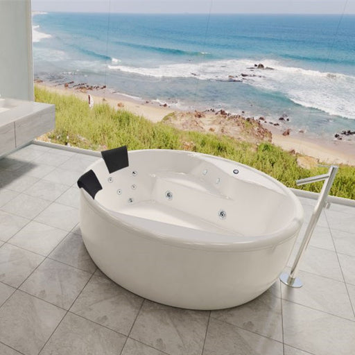 Decina Orion 1570 Freestanding Dolce Vita 14 Jets Spa Bath - Idealbathroomcentre