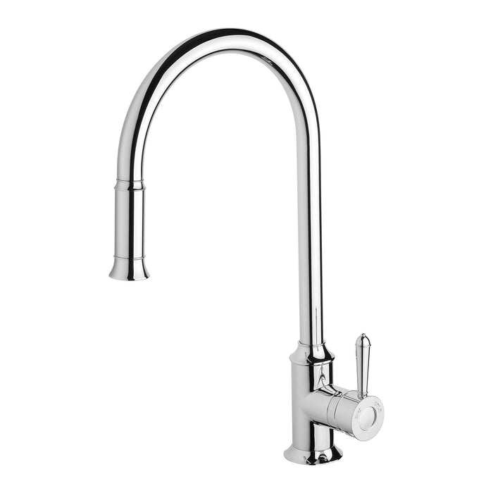 Phoenix Nostalgia Pull Out Sink Mixer - Idealbathroomcentre