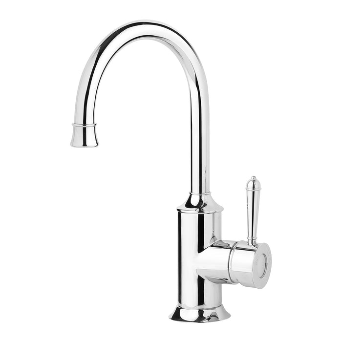 Phoenix Nostalgia Sink Mixer 160mm Gooseneck - Idealbathroomcentre