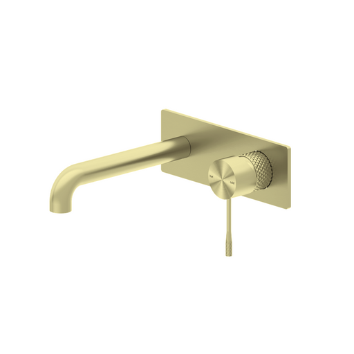 NERO-Nero Opal Wall Basin/Bath Mixer - Brand_Nero, Collection_Opal, Colour_Brushed Bronze, Colour_Brushed Gold, Colour_Brushed Nickel, Colour_Gun Metal, Product Type_Wall Mixer Set, Room_Bathroom, Shape & Design_Round-Ideal Bathroom Centre