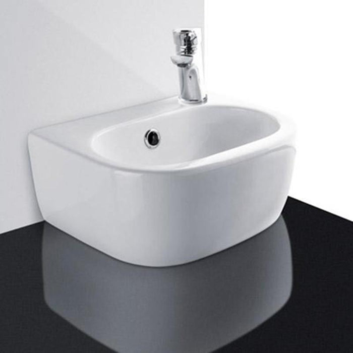 STUDIO BAGNO-Studio Bagno Nicole 360mm Basin - Basin, Bathroom, Brand_Studio Bagno, Colour_ Matte Black, Colour_Gloss Black, Colour_Gloss White, Colour_Matte White, Material_Ceramic, Product Type_Above Counter Basin, Product Type_Wall Hung Basin, Shape & Design_Oval-Ideal Bathroom Centre