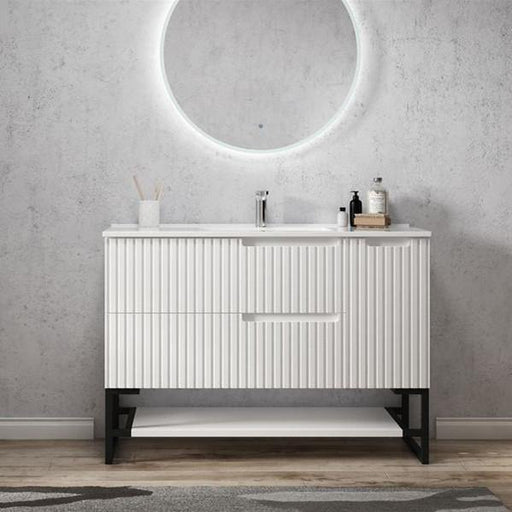 Otti Noosa 1200mm Vanity Matte White - Idealbathroomcentre