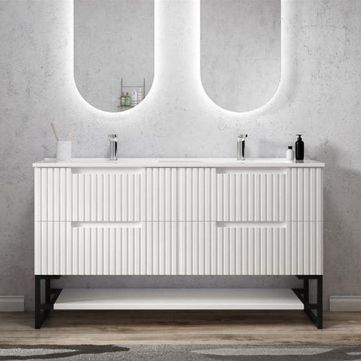 Otti Noosa 1500mm Vanity Matte White - Idealbathroomcentre