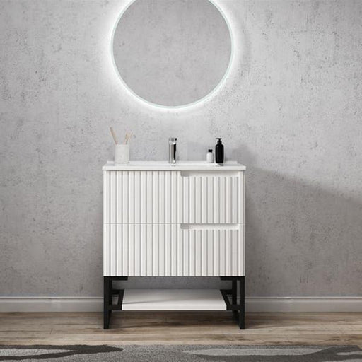 Otti Noosa 750mm Vanity Matte White - Idealbathroomcentre
