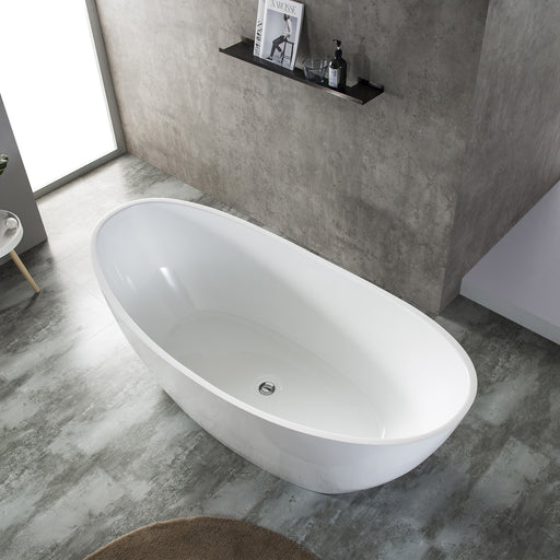 Milano Paris 1500/1700mm  Freestanding Bath - Idealbathroomcentre