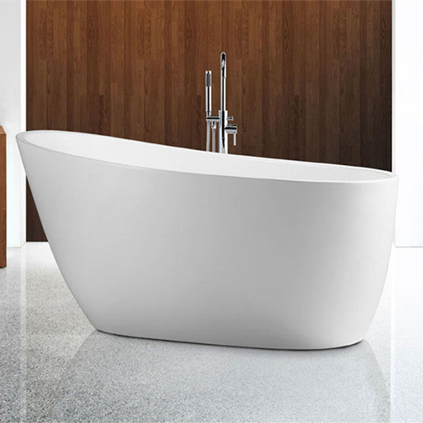 Decina Piccolo 1400/1500/1700 Freestanding Bath-White - Idealbathroomcentre