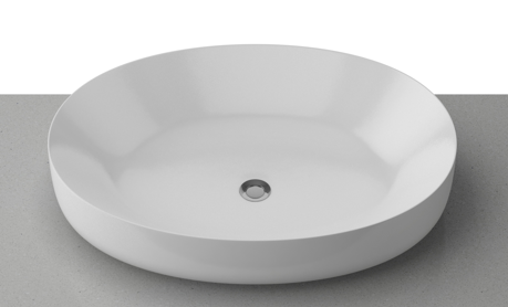 Timberline Plume 510*370mm Ceramic Above Counter Basin