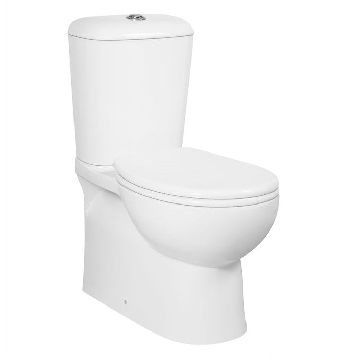 Pavia Boxrim Back To Wall Toilet Suite Bottom Inlet