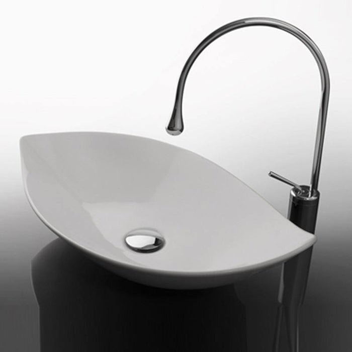 Studio Bagno Piroga 650mm Basin - Idealbathroomcentre