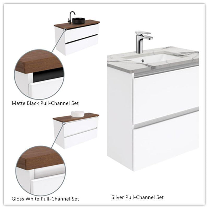 Fienza Quest 1200mm Vanity With Undermounted Stone Top - Idealbathroomcentre