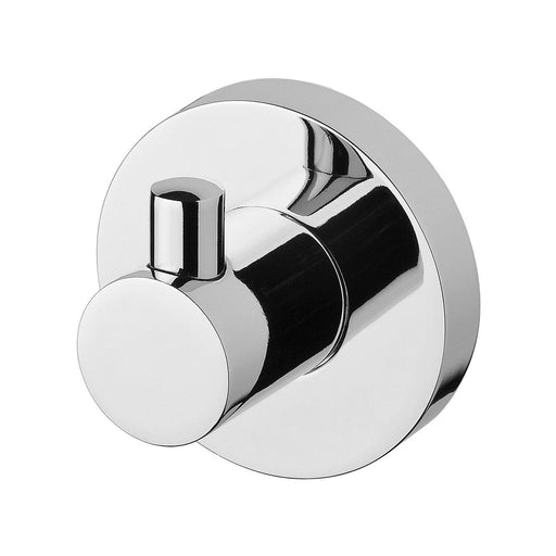 Phoenix Radii Robe Hook Round Plate - Idealbathroomcentre