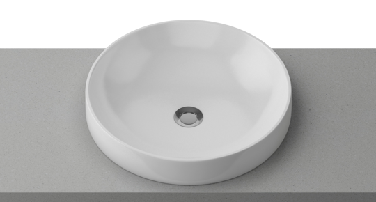 Timberline Radius 400*400mm Round Basin