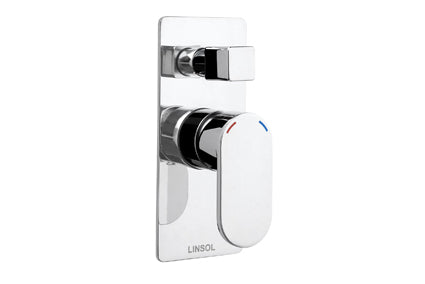 Linsol Realm Shower/Bath Mixer with Divertor - Idealbathroomcentre