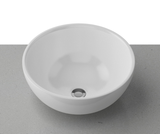 Timberline Rose 320*320mm round Above Counter Ceramic Basin