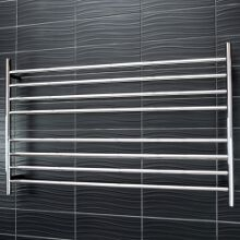 Radiant Round Bar Heated Towel Rails 8 Bar 1300x750mm - RTR09
