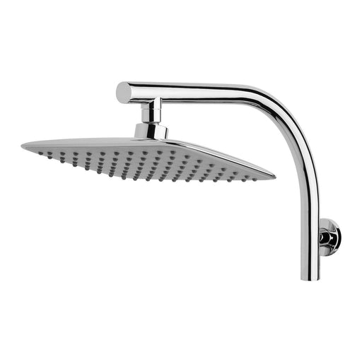 Phoenix Rush High Rise Shower Arm & 200x250mm Rose