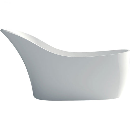 Fienza La Vida 1690 Matte White Stone Freestanding Bath - Idealbathroomcentre
