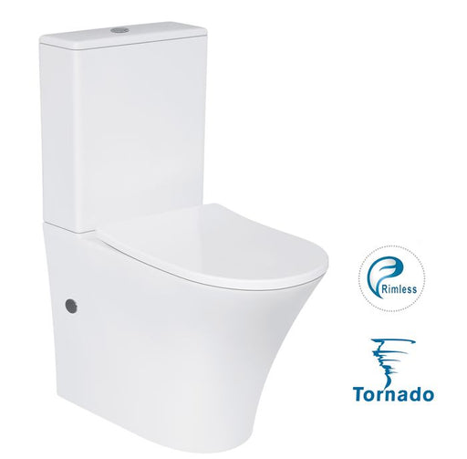 Space Tornado Back To Wall Toilet Suite