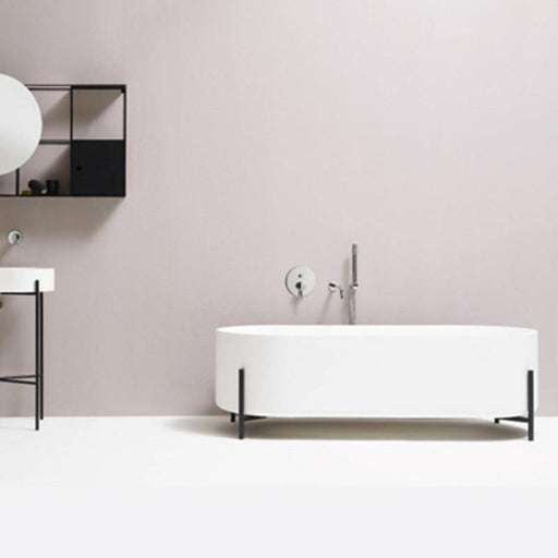 Studio Bagno Stand 1600mm Free Standing Bath - Idealbathroomcentre