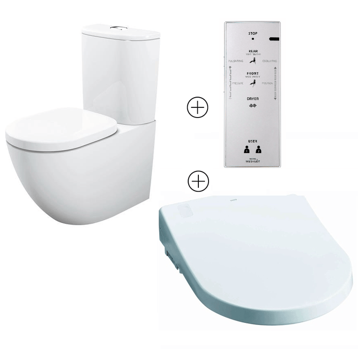 TOTO Basic+  Auto Washlet Bidet Toilet Suite