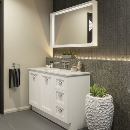 Timberline Victoria 1200mm Freestanding Vanity with Stone Top