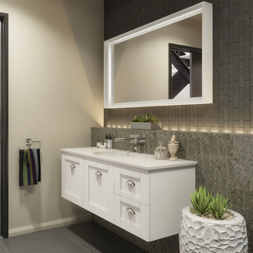 Timberline Victoria 1200mm Wall Hung Vanity with Stone Top