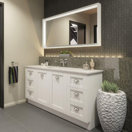 Timberline Victoria 1500mm Freestanding Vanity with Stone Top - Idealbathroomcentre