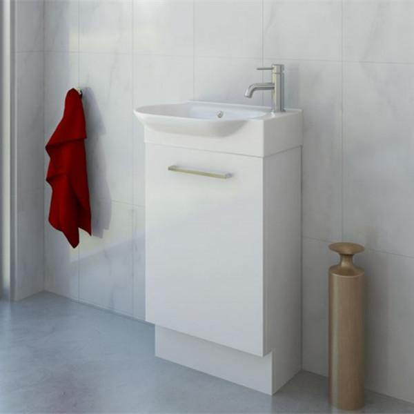 Timberline Lisbon 570mm Freestanding Vanity on Kickboard - Idealbathroomcentre