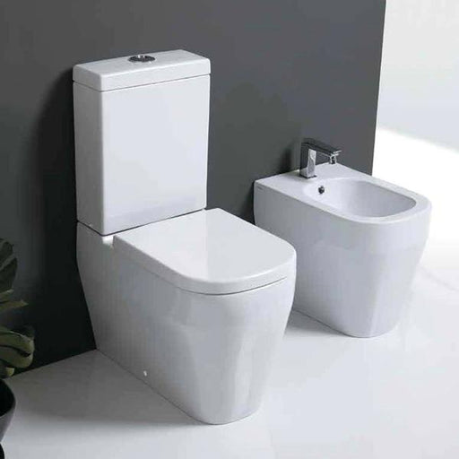 Studio Bagno Tutto Evo Back To Wall Toilet Suite