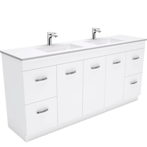 Fienza Vanessa 1800mm Double Bowl Uni Cabinet with Kick