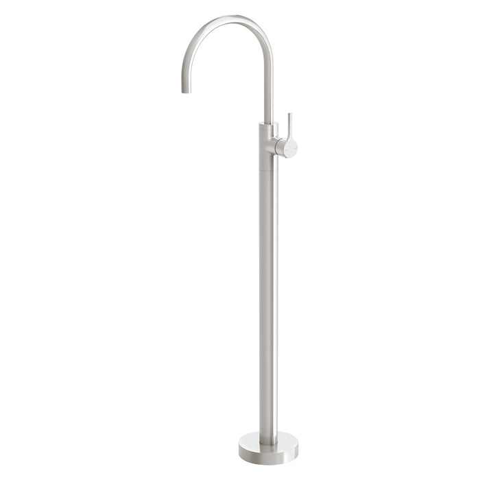 Phoenix Vivid Slimline Oval Floor Mounted Bath Mixer - Idealbathroomcentre