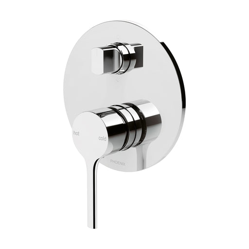 Phoenix Vivid Slimline Oval Shower / Bath Diverter Mixer