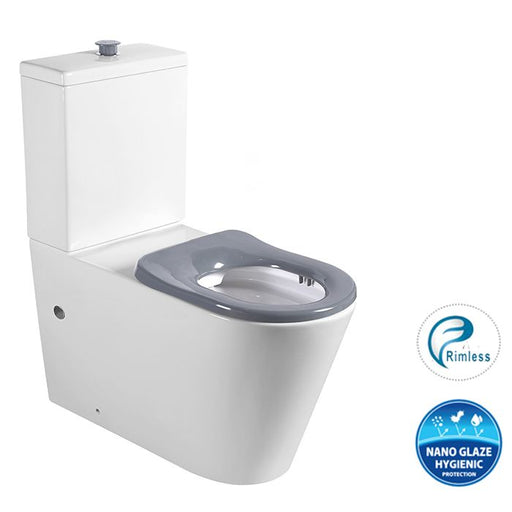 Wellness Care Rimless Back To Wall Toilet