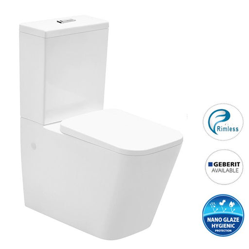 X-Cube Rimless Back To Wall Toilet Suite