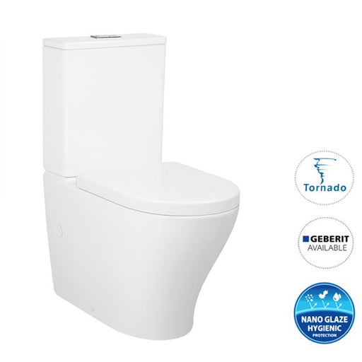 Zenitti Tornado Back To Wall Toilet Suite